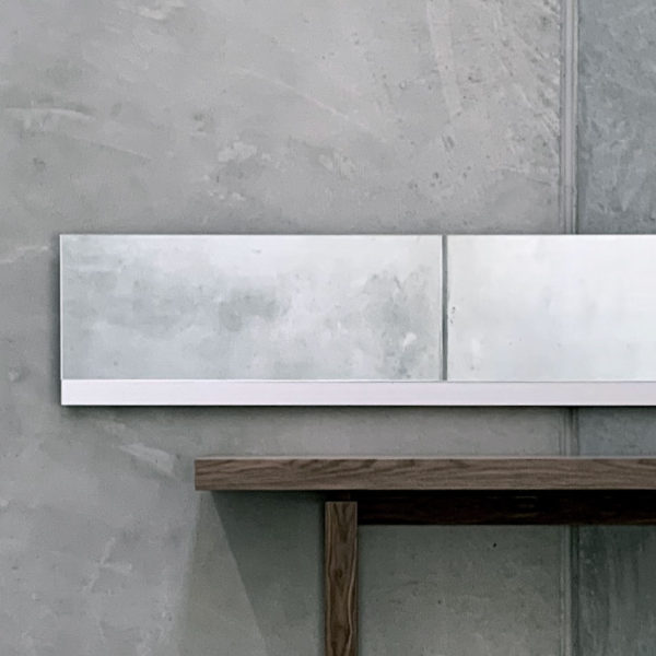 Void Mirror - Aluminium Feature