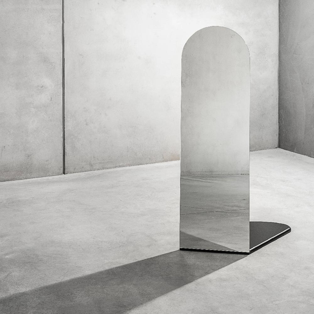 Umbra Floor Standing Mirror Shadow Front